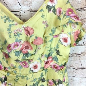 Urban Outfitters Pants - New Urban Outfitters Floral Romper Shorts XS